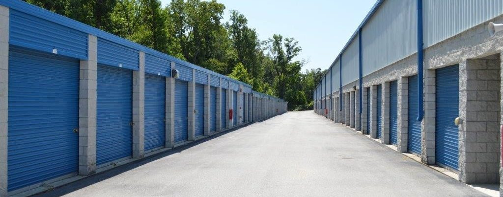 Route 1 outdoor storage units.
